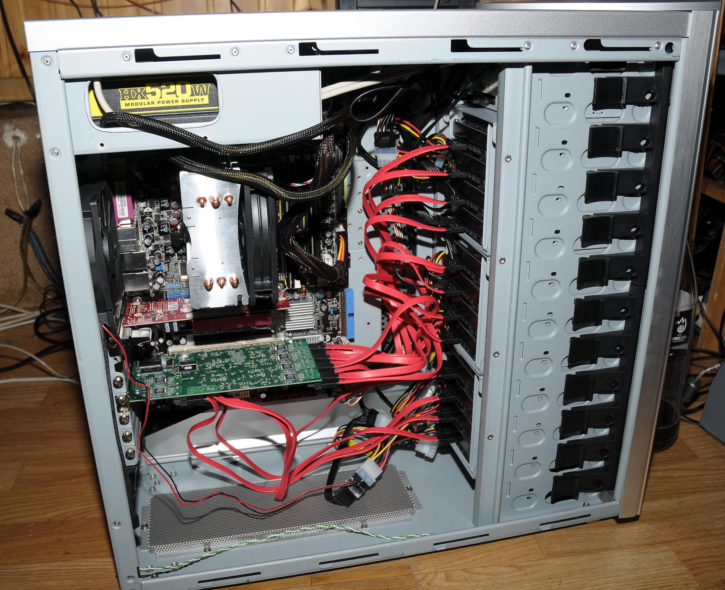 Как сделать из одного пк сервер 161