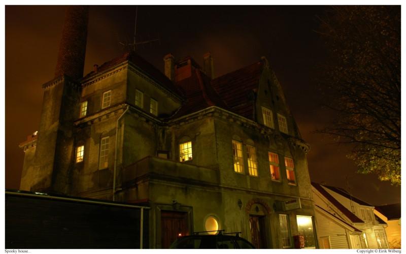 Spooky house by Wibla