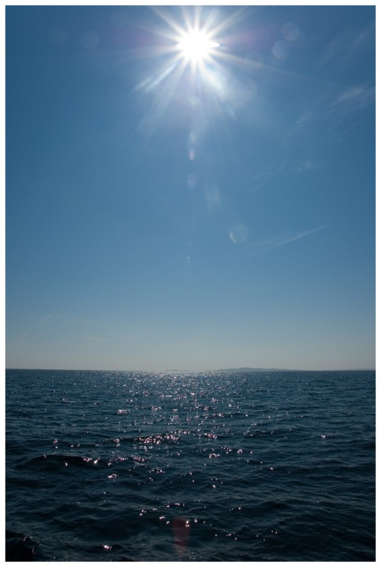 Sun and water by Wibla