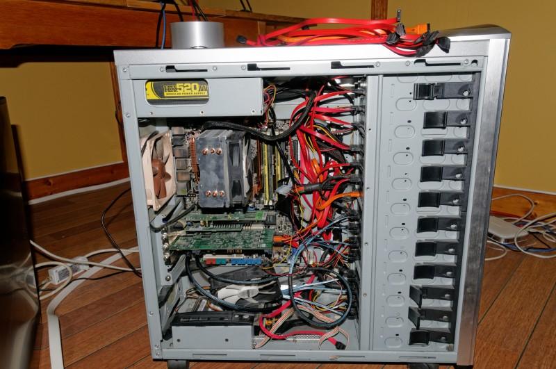 E6600 3ware + LSI + mobo