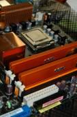 P5W DHD, 2x1GB Geil Ultra DDR2-800, E6600