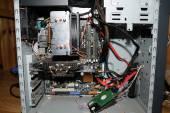 "DSC_7680pp.jpg E6600 @ 3GHz / 2GB ram 7950GT Passive 160GB 2.5"" SATA Corsair CX400 Generic miditower 16X DVDRW"